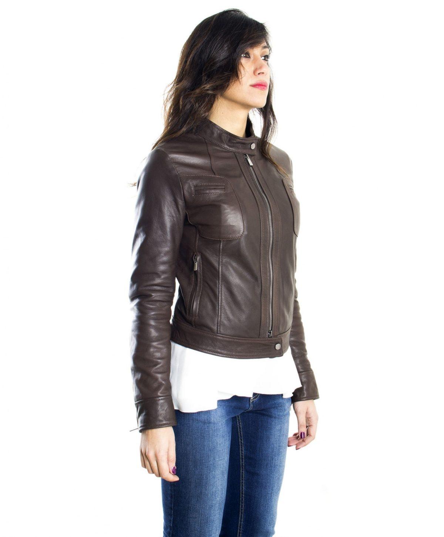 giacca-in-pelle-donna-modello-biker-con-collo-mao-e-taschini-colore-testa-di-moro (1)