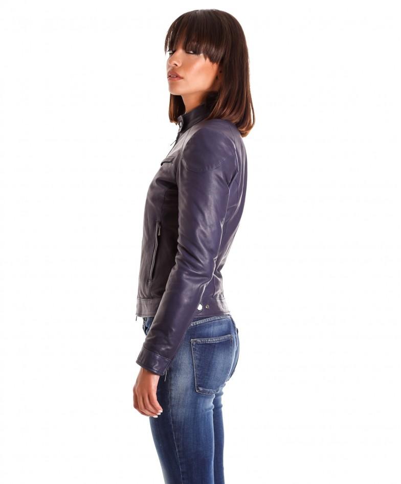 giacca-in-pelle-donna-modello-chiodo-biker-con-impunture-blu-mia (3)