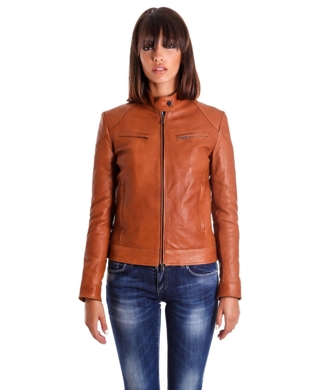 giacca-in-pelle-donna-modello-chiodo-biker-con-impunture-cuoio-mia