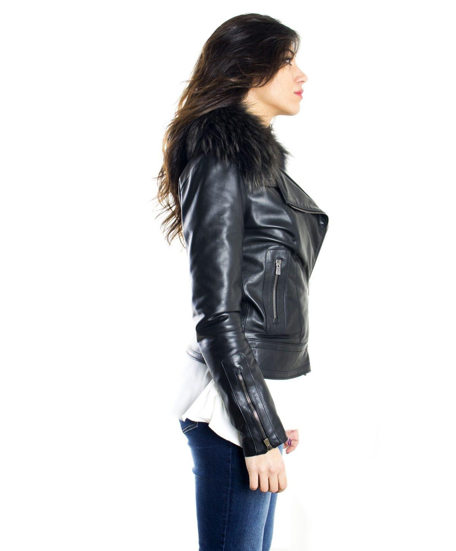 giacca-in-pelle-donna-modello-chiodo-biker-con-zip-trasversale-colore-nero-f202-collo-volpe (1)