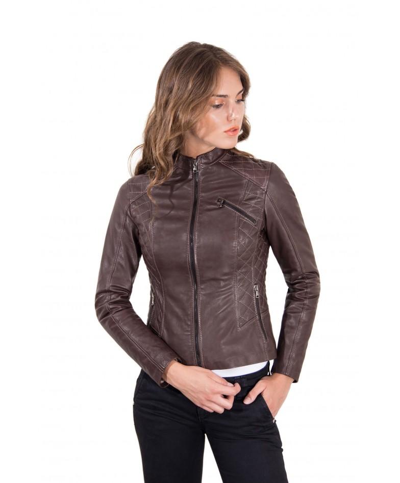 giacca-in-pelle-donna-trapuntata-modello-chiodo-biker-colore-testa-di-moro-geny-collezione-donna-autunno-inverno