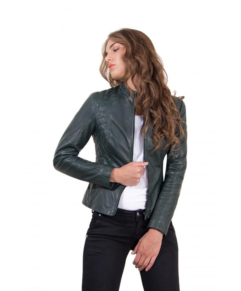 giacca-in-pelle-donna-trapuntata-modello-chiodo-biker-colore-verde-geny-collezione-donna-autunno-inverno (2)