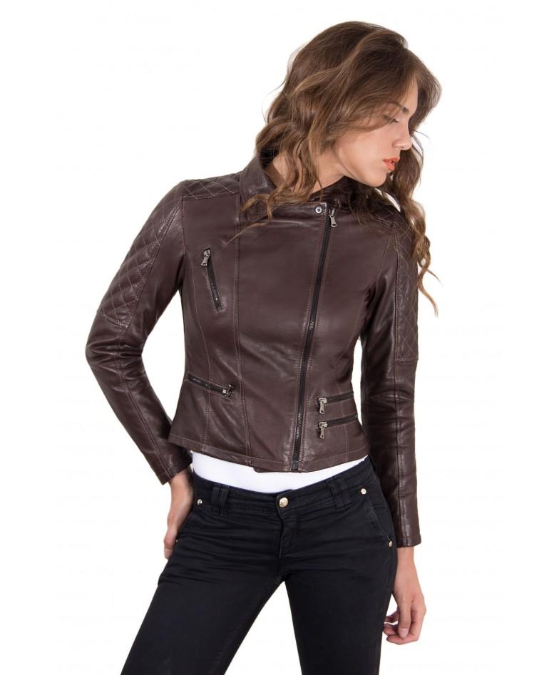 giacca-in-pelle-donna-trapuntata-sulle-spalle-modello-chiodo-biker-colore-testa-di-moro-nadia-collezione-autunno-inverno