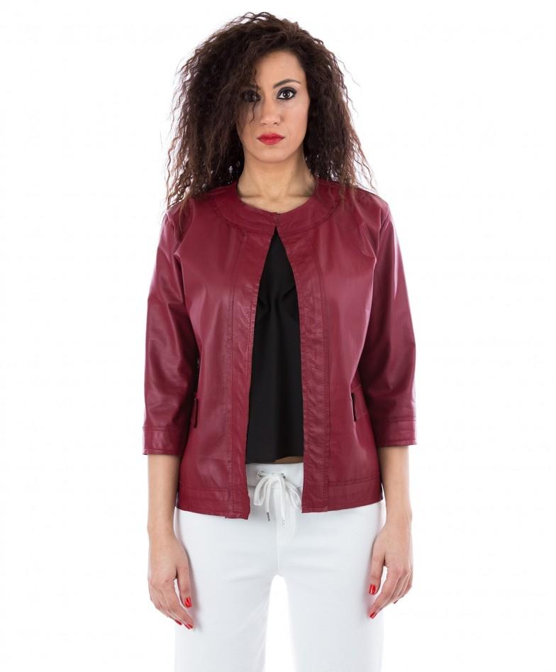 giacchino-in-pelle-donna-rosso-soprabito-emma