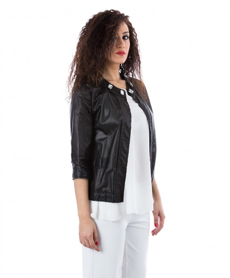 giacchino-in-pelle-traforata-donna-nero-soprabito-emma (2)