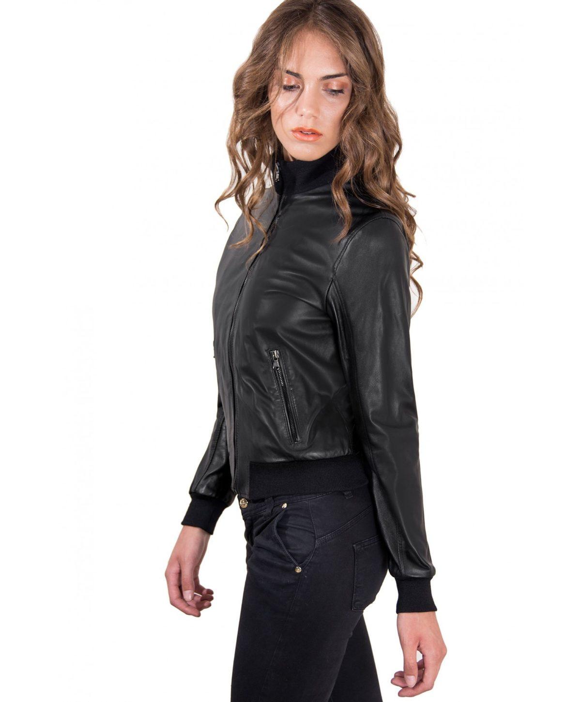 giubbotto-in-pelle-donna-modello-bomber-con-cerniera-centrale-colore-nero-g155 (1)
