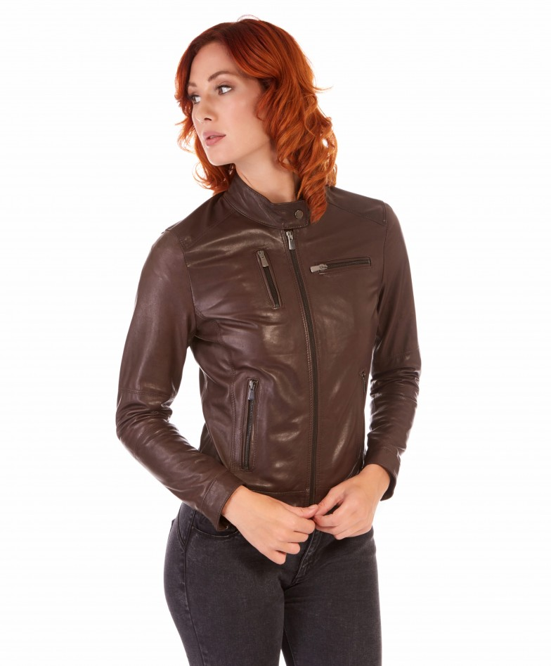 giulia-brown-color-lamb-leather-jacket-biker-vintage-effect