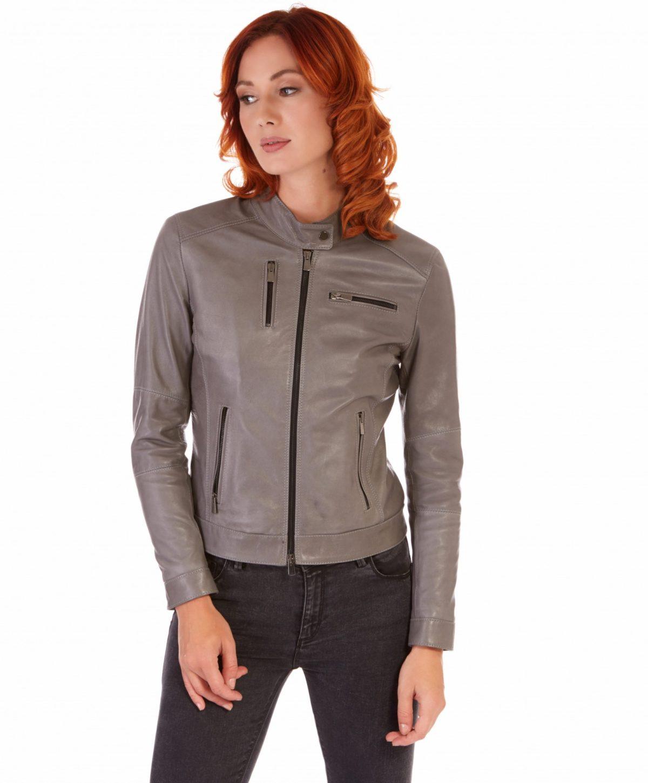 giulia-grey-color-lamb-leather-jacket-biker-vintage-effect