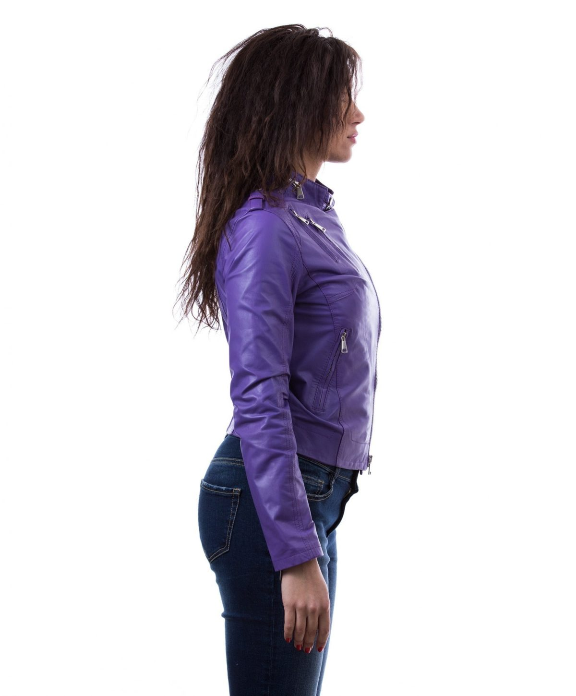 leather-jacket-genuine-lamb-leather-biker-perfecto-violet- (2)