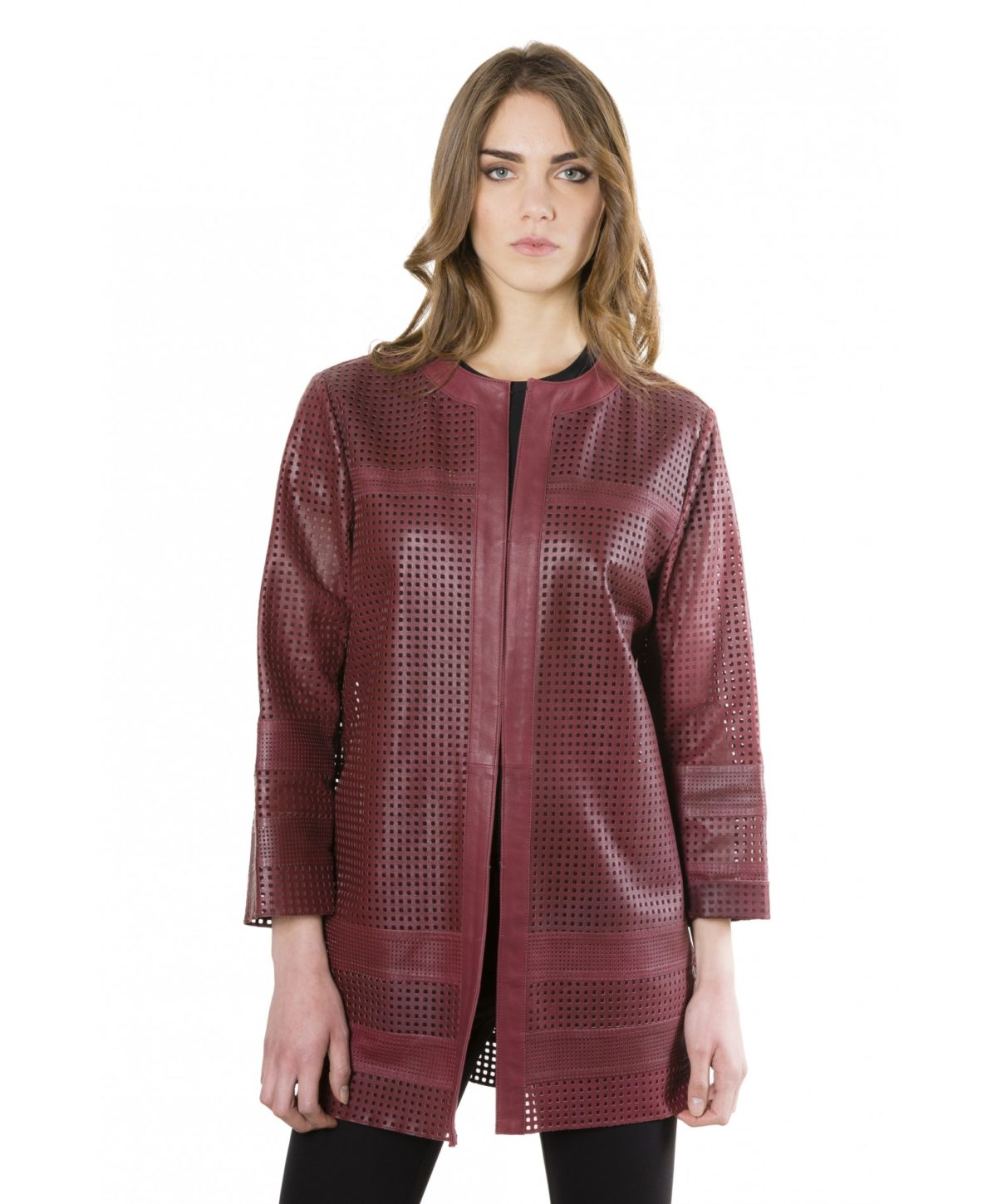 madox-bordeaux-color-lamb-lasered-leather-jacket