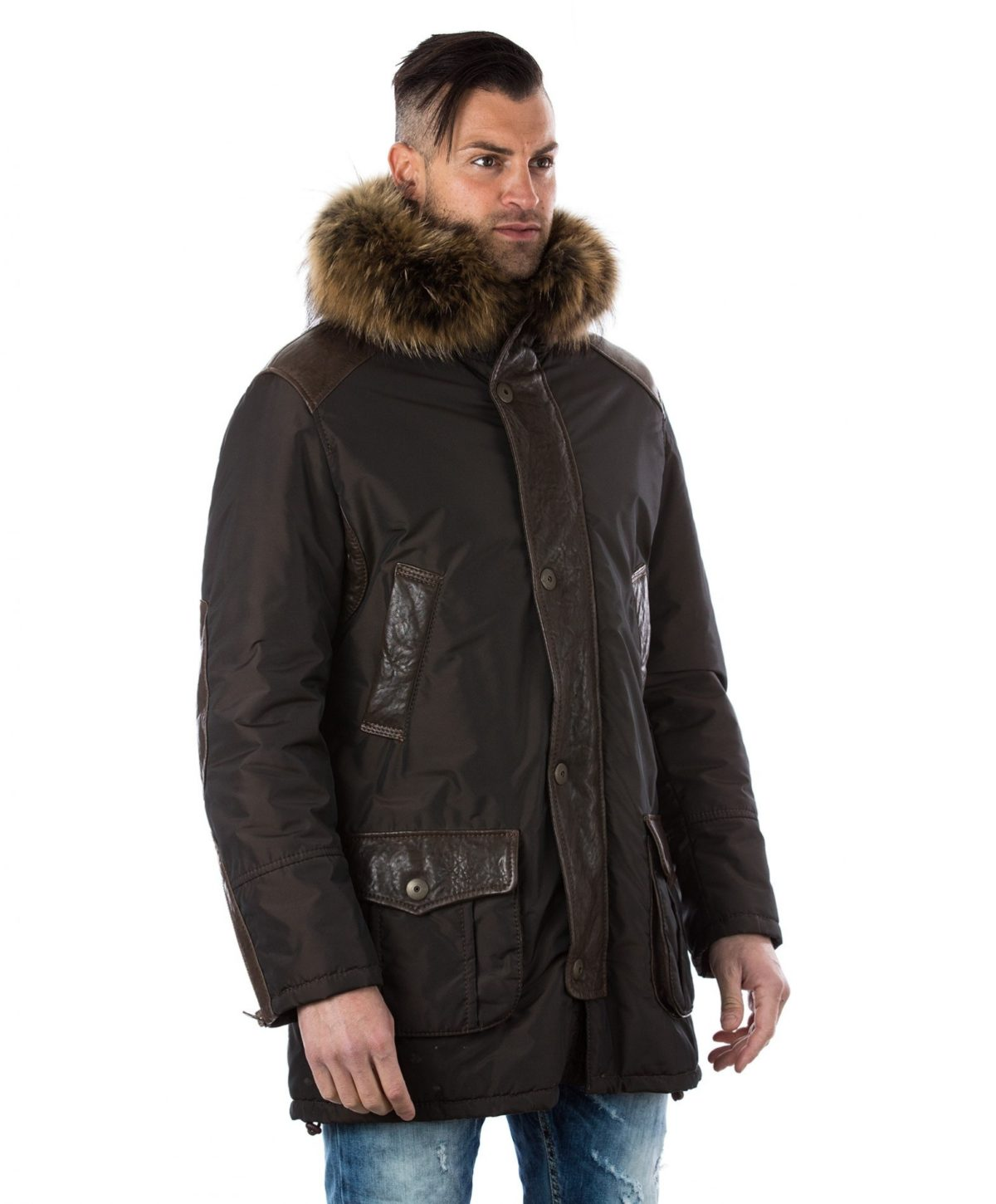 man-leather-and-fabric-coat-fox-fur-hood-brown-marco (3)