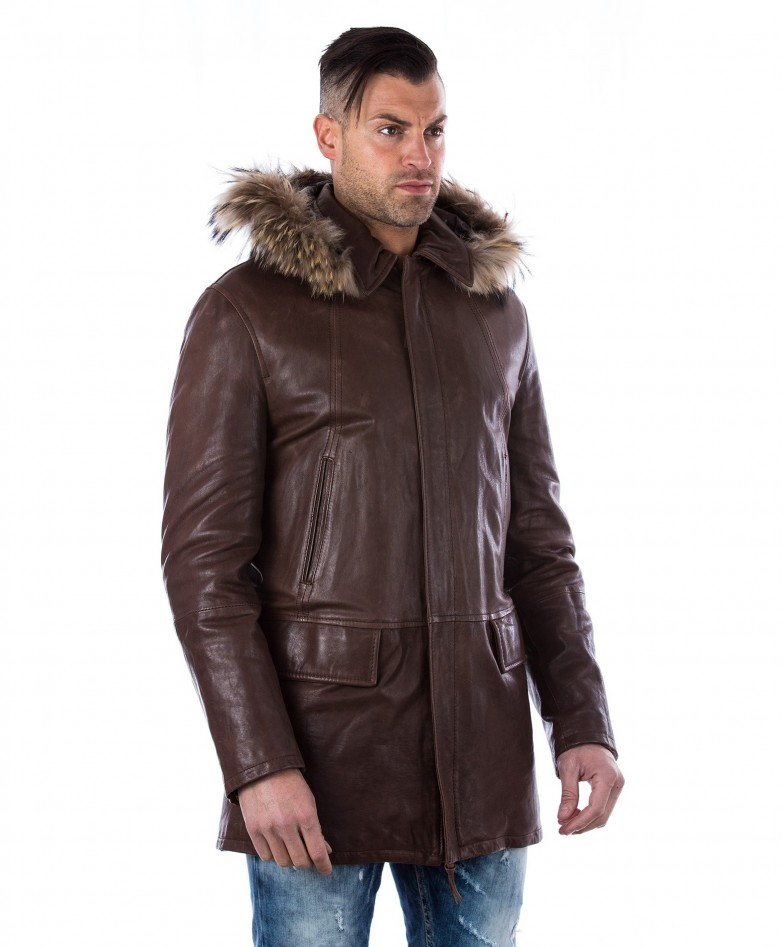man-leather-coat-fox-fur-hood-black-marco (2)