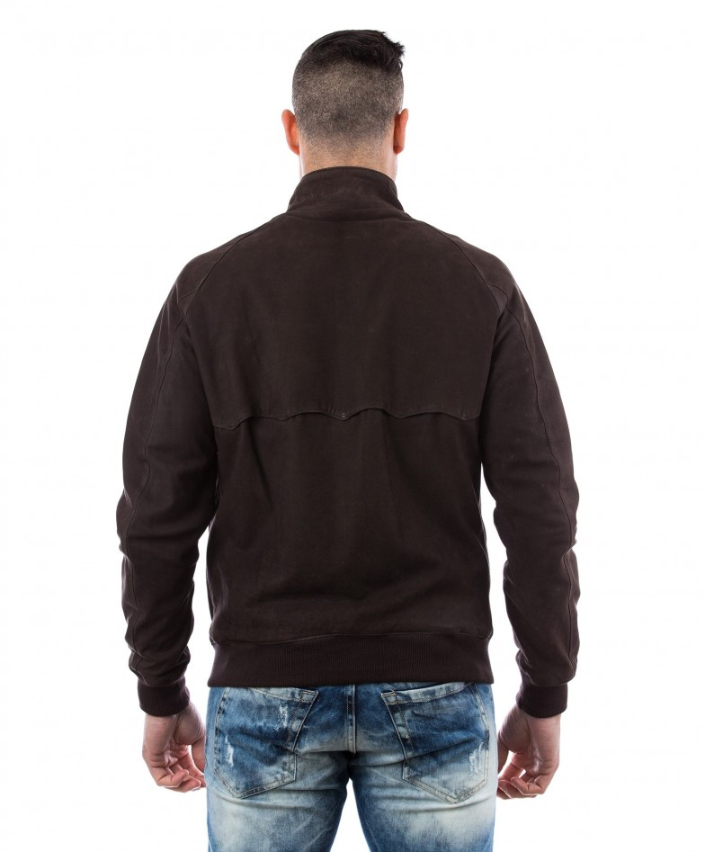 man-leather-jacket-lamb-leather-style-bomber-central-zip-brown-color-br (4)