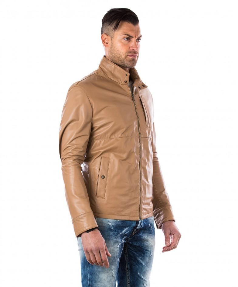 men-s-leather-jacket-central-zip-and-buttons-pockets-regular-fit-davide-beige- (2)