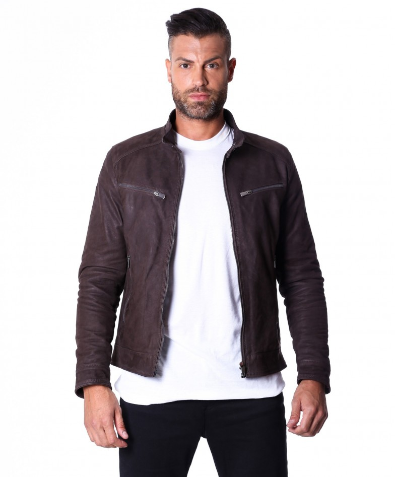 men-s-leather-jacket-genuine-nabuk-soft-leather-biker-style-collar-mao-dark-brown-color-hamilton (3)