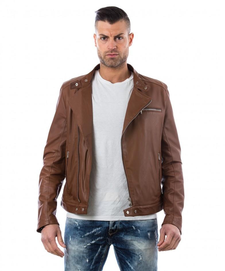 men-s-leather-jacket-genuine-soft-leather-biker-mao-collar-cross-zip-tan-color-mod-raniero-chiodo (5)