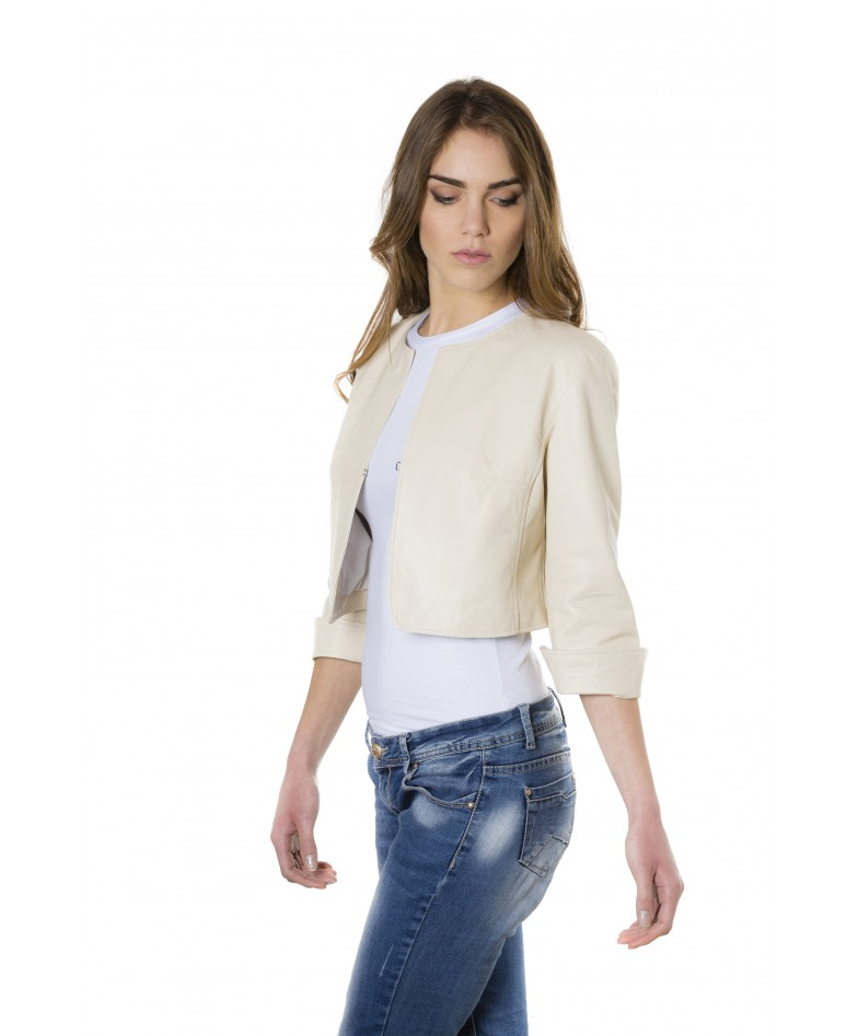 miss-beige-color-lamb-leather-round-neck-short-jacket (3)