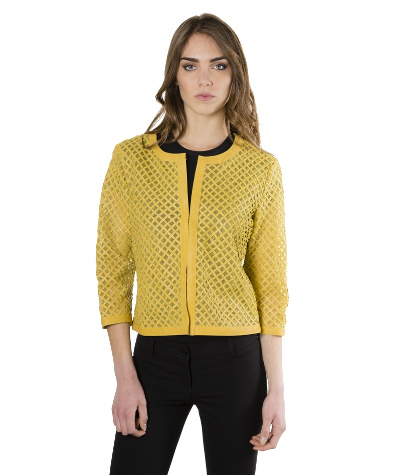 mud-rombi-yellow-color-lamb-lasered-leather-jacket