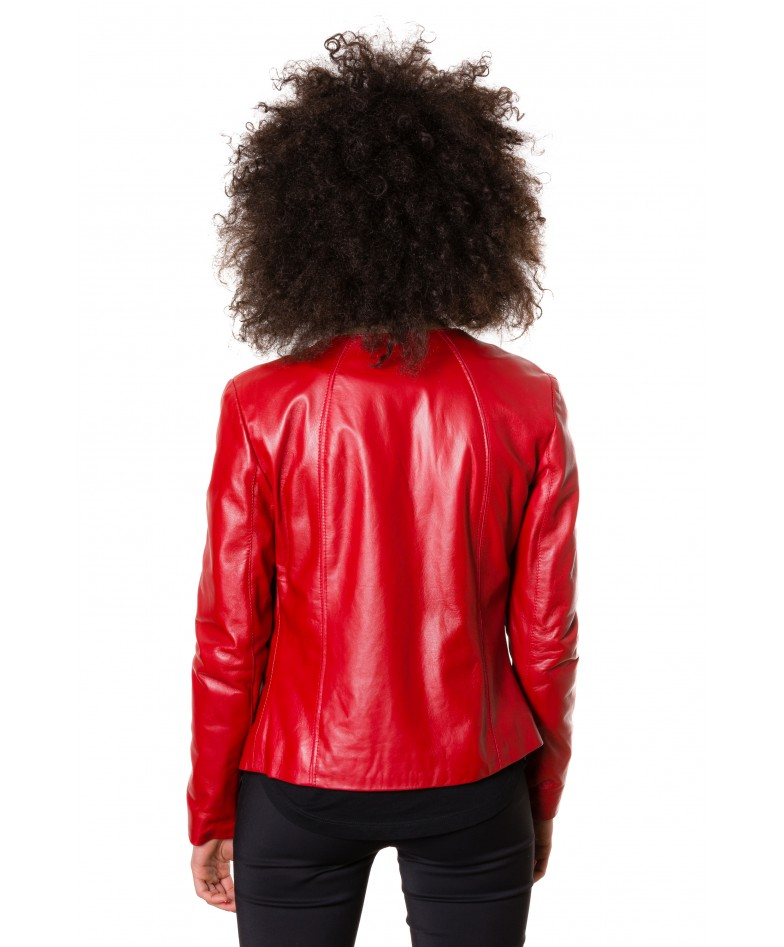 p151-red-color-nappa-lamb-leather-short-jacket-smooth-effect (4)