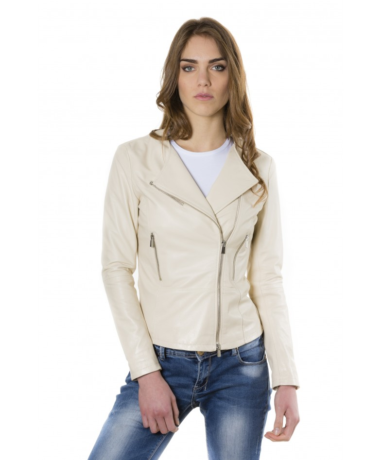 pinko-beige-color-nappa-lamb-leather-jacket-smooth-effect