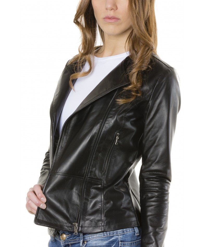 pinko-black-color-nappa-lamb-leather-jacket-smooth-effect (2)