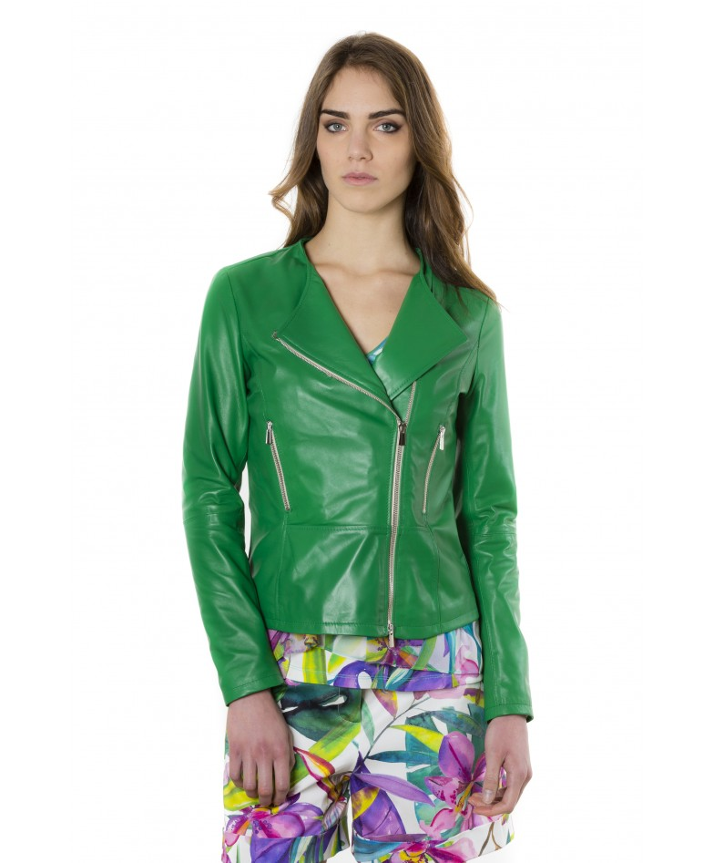 pinko-green-color-nappa-lamb-leather-jacket-smooth-effect