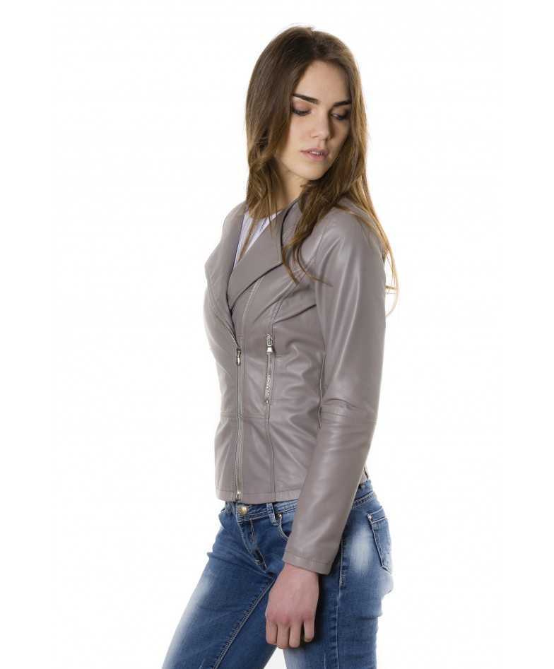 pinko-grey-color-nappa-lamb-leather-jacket-smooth-effect (2)